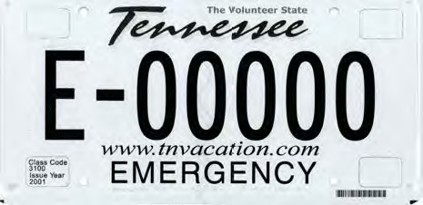 EMERGENCY (E-PLATE) - SPECIAL PURPOSE – County Clerks Guide