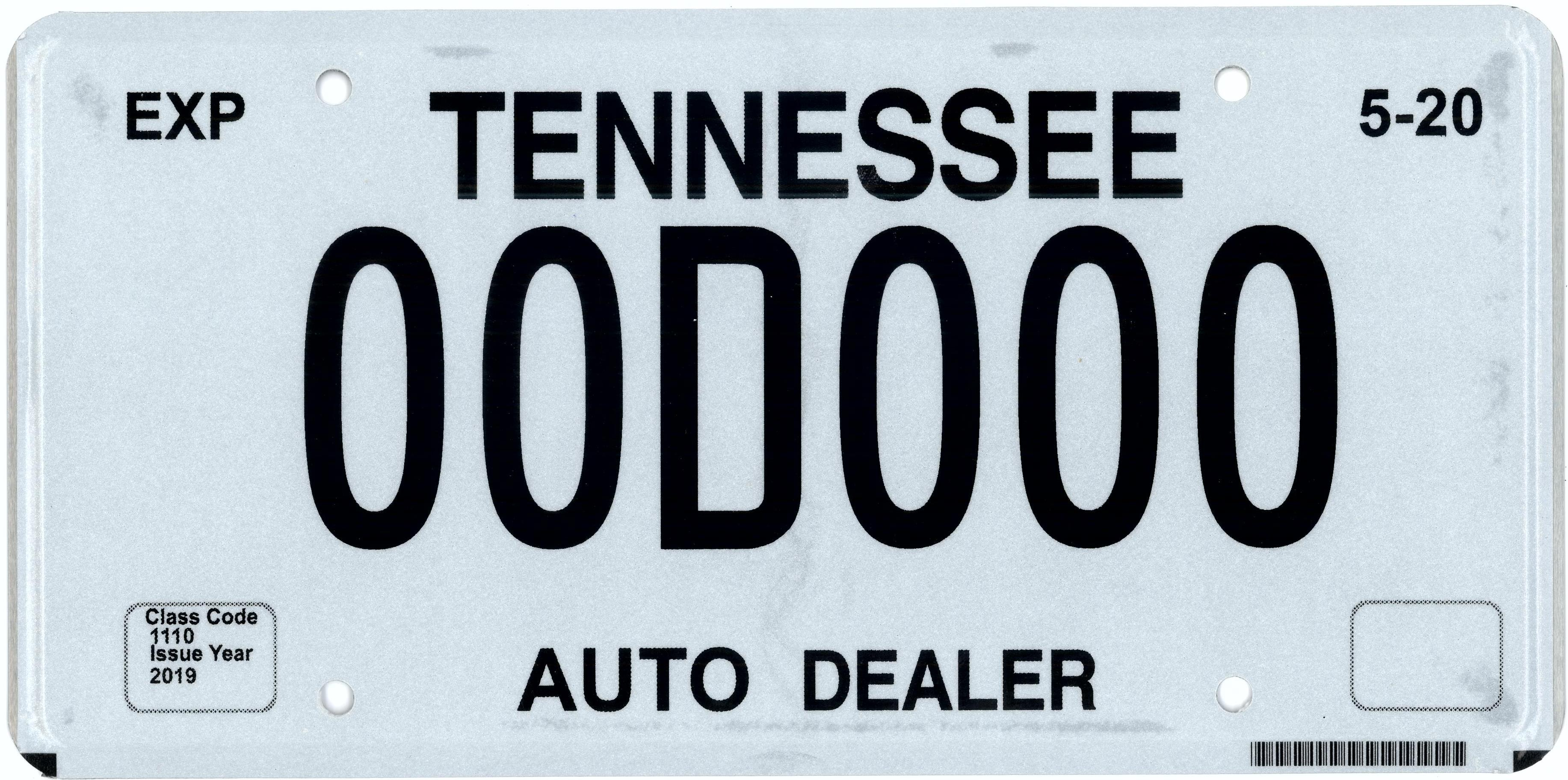 DEALER PLATES OVERVIEW – County Clerks Guide